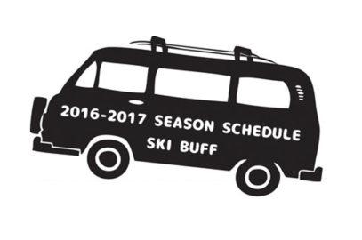 2016-2017シーズンスケジュール