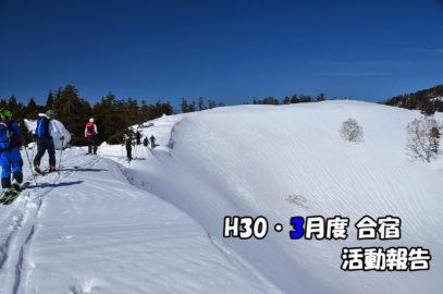 3月度合宿(18/03/03~04) 活動報告